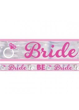 Hen Party Bride To Be Foil Banner - 7.6m