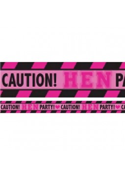 Hen Party Caution Tape - 9.1m