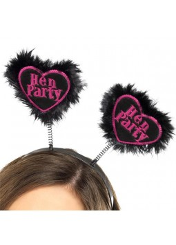 """Hen Party"" Love Heart Boppers - Hen Party Accessories"