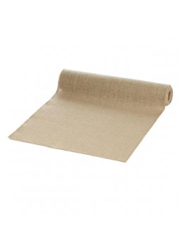 A Vintage Affair Hessian Wedding Table Runner
