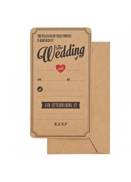 A Vintage Affair Wedding Invitations