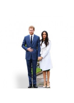 Harry & Meghan Mini Cutout - 91cm