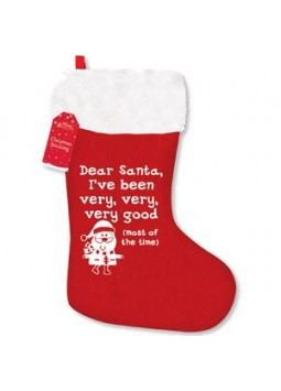 """I've Been Very Good"" Christmas Stocking - 50cm"