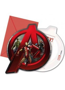 Avengers Age Of Ultron Invites