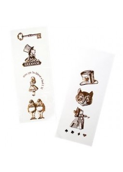Truly Alice Gold Foil Temporary Tattoos