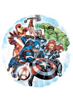 "Avenger Foil Balloon - 18"" (each)"