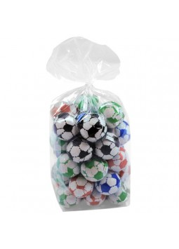 Milk Chocolate Footballs Gift Bag