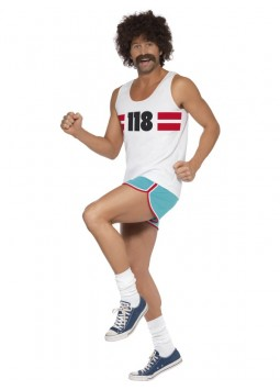 118118 Runner Costume, White
