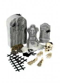 24 Piece Graveyard Collection, Grey