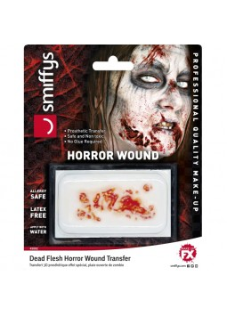 Horror Wound Transfer, Dead Flesh, Red