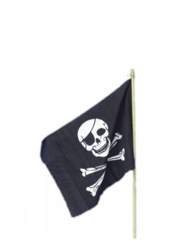 Pirate Flag, 45x30cm / 18inx12in