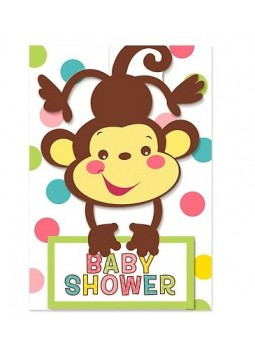 Baby Shower Invites - Party Invitation Cards (Pack of 8)