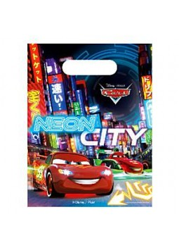 Disney Cars Neon Party Bags