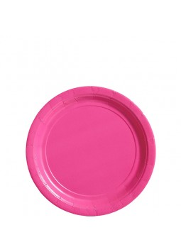 17cm Pink Party Plates (20)