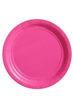 23cm Pink Party Plates (20)