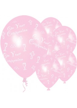 Communion Pink Balloons