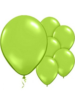 Chic Green Balloons - 11'' Latex Balloon (Pack of 50)