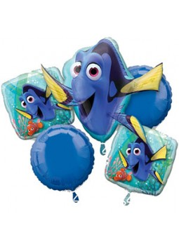Finding Dory Balloon Bouquet