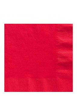 Red Luncheon Napkins (50)