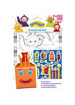 Teletubbies Colouring Set