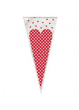 Heart Cone Cello Bags