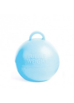 Baby Blue Bubble Balloon Weight
