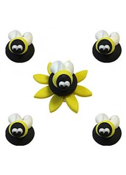 Bumblebee Sugar Toppers - Cake Decorations (5)