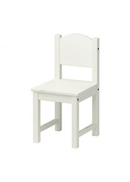 WHITE WOODEN CHAIRS
