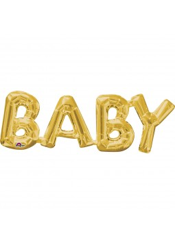 "Phrase ""BABY"" Gold"