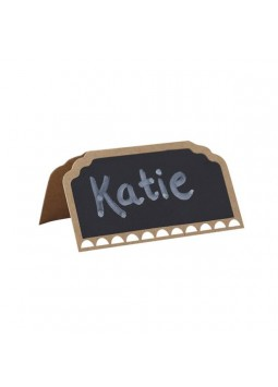 A Vintage Affair Wedding Chalkboard Place Cards