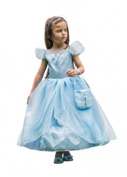 Blue Shimmer Princess - Child Costume