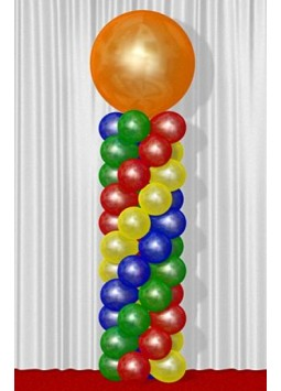 Balloon Spiral Decoration