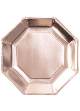 Pick & Mix Rose Gold - Rose Gold Paper Plates