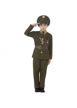 Army Officer Costume, Green