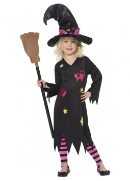Cinder Witch Costume, Black