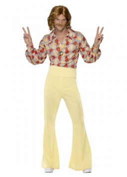 60s Groovy Guy Costume, Patterned