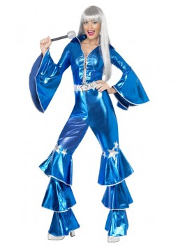 1970s Dancing Dream Costume, Blue