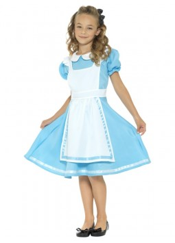 Wonderland Princess Costume, Blue