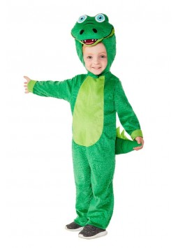 Toddler Crocodile Costume, Green