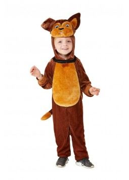 Toddler Dog Costume, Brown