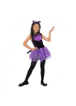 Cat Costume, Black & Purple