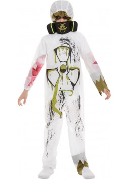 Biohazard Suit Costume, White