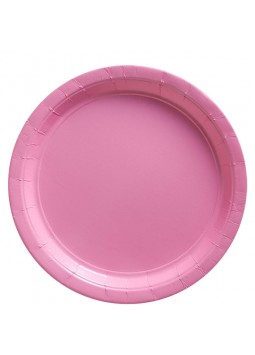 23cm Baby Pink Plates (20)