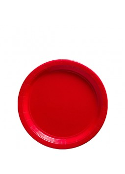 Red Party Dessert Plates (8)