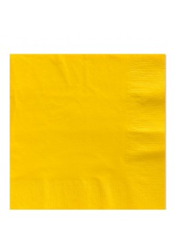 Yellow Luncheon Napkins (20)