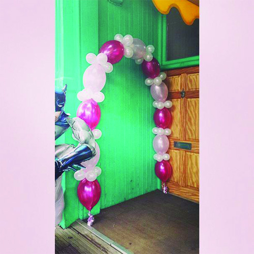 15ft Floating Balloon Arch