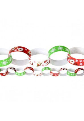 Christmas Paper Chains - 20cm strips