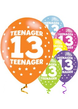 BALLOON  pk6 27cm  Teenager
