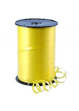 Curling Balloon Ribbon: Lemon (500m)