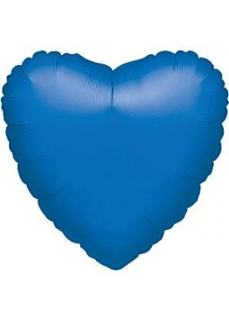 Blue Heart Balloon - 18'' Foil